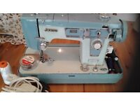 Jones Sewing Machine with Hard Cover and Pedal