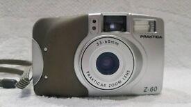 Praktica Z60 35mm compact zoom rangefinder film camera pre digital retro