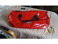 Ortlieb Rack Pack Red PVC Dry Bag Waterproof Bag Bike / Motorbike / Kayak