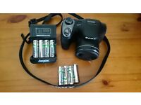 SONY DSC-H300 + 8 acumulatores + charger