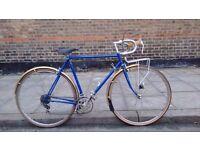 lightweight Reynolds 531 Racer/Road bike with Brooks seat
