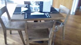 Wooden Chair and Table top only no leg, Collection only in Harborne £150 for all