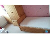 Pine Nursery Furniture Set