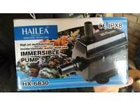 Hailea HX-6830 SUBMERSIBLE / INLINE WATER PUMP