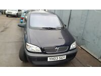 vauxhall zafira up for swap or sale