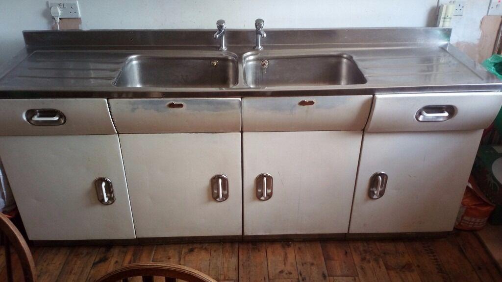 Vintage collectors english rose kitchen complete metal for English rose kitchen units