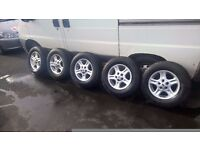 "LANDROVER FREELANDER 15"" ALLOY WHEELS"