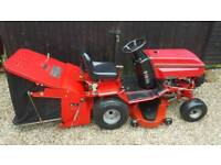 Westwood ride on lawnmower ( sweeper roller collector )