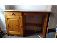 Nice pine dressing table