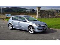 2007 VAUXHALL ASTRA SRI XPACK ONLY 68000 MILES WITH F/S/H FULL YEARS MOT. LADY OWNER