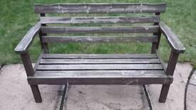 Childrens Wooden Bench