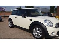 2012 MINI ONE FULLY SERVICED WITH MOT - Pepper Pack included