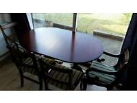 6 seater extender table
