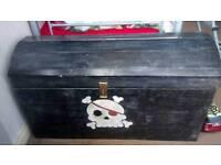 handmade pirates chest