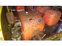 Vintage generator ready for restoration