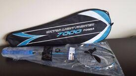 Victor Light Fighter 7000 Badminton Racket (Yonex BG65Ti String)