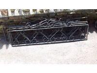 Ornate Garden Metal Panels