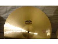 "Paiste Formula 602 classic medium ride cymbal 20"""