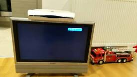 TV 26 Inch with Sky box and router set