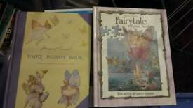 Fairy jigsaw puzzle books