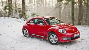 2012-2017 Volkswagon Beetle Snow Tire Packages starting at $705 -  P 215/60/16 and P 215/55/17 Winter Tires