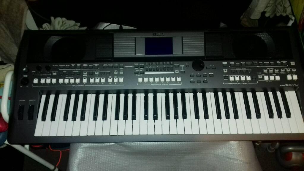 yamaha psr s670 workstation keyboard in newcastle tyne. Black Bedroom Furniture Sets. Home Design Ideas