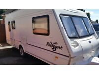 Bailey Pageant Auvergne 2004 Five berth touring caravan with lots of extras