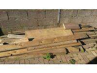 planks of wood