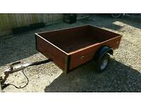 5 X 3 FT SOLID AND STRONG CAR TRAILER