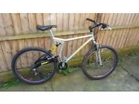 Rare mid 90's Proflex 657 Expert series full suspension mountain bike