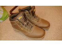 Site brown boots size 9 worn once.
