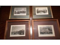 Antique Engravings by Finden - 200 years old!