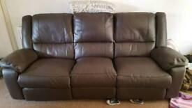 3 seat recliner