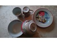 Portmeirion Vintage Kelloggs 6 Piece Breakfast Set.