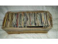 "0ver 300 7"" Vinyl records (pop and soul)"