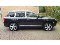 2005 PORSCHE CAYENNE 4.5 S SUV 4X4 TIPTRONC BLACK/BLACK FULLY LOADED ALL EXTRAS EXCELLENT CONDITION
