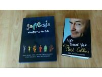 3 x phil collins / genesis chapter & verse / not dead yet / tour prog