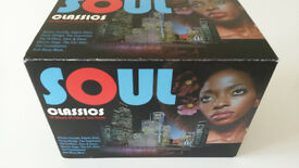 Boxed set of 20 classic soul CDs - BRAND NEW