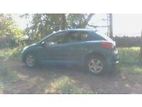 Peugeot 207 87 Sport , 1.4. petrol 5 door hatchback 2007