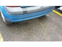 renault clio rear bumper from a 2002 1.4 16v 3 door blue