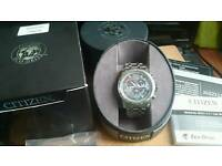 CITIZEN ECO DRIVE RADIO CONTROLLED WATCH