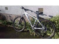 Mountain Bike (Specialized) Grey: 53 cm, 21 inch frame, 3x 9 gears