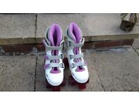 SFR Phoenix Quad Roller skates Pink