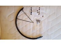 FWE Rear Mudguard for Road bikes - all attachments included