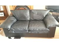 2 seater leather sofa, in good condition, needs gone asap. £30