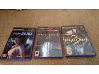 Project Zero 1, 2 & 3 for PS2