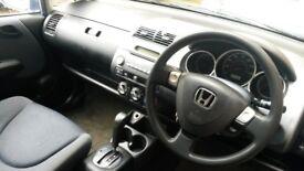 Honda jazz automatic .mot.