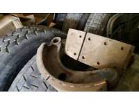 As new scania brake shoes