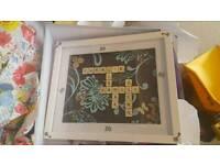 12x10 Scrabble Frame
