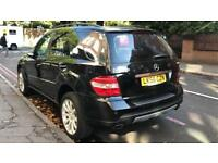 Mercedes ML280 CDI DIESEL AITOMATIC 5 SEATER MOT ALLOY WHEELS FULL LEATHER